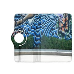 Mural Wall Located Street Georgia Usa Kindle Fire Hdx 8 9  Flip 360 Case by Simbadda