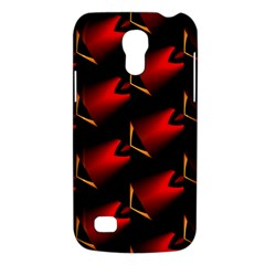 Fractal Background Red And Black Galaxy S4 Mini by Simbadda