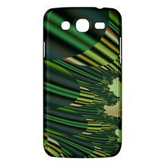 A Feathery Sort Of Green Image Shades Of Green And Cream Fractal Samsung Galaxy Mega 5 8 I9152 Hardshell Case  by Simbadda