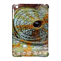 Macro Of The Eye Of A Chameleon Apple Ipad Mini Hardshell Case (compatible With Smart Cover) by Simbadda