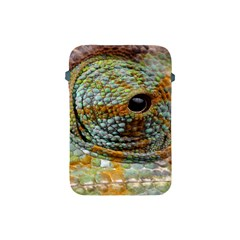 Macro Of The Eye Of A Chameleon Apple Ipad Mini Protective Soft Cases by Simbadda