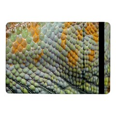 Macro Of Chameleon Skin Texture Background Samsung Galaxy Tab Pro 10 1  Flip Case by Simbadda