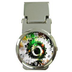 Fractal Universe Computer Graphic Money Clip Watches by Simbadda