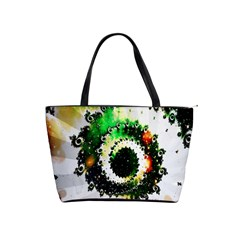 Fractal Universe Computer Graphic Shoulder Handbags by Simbadda