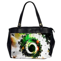 Fractal Universe Computer Graphic Office Handbags (2 Sides)  by Simbadda