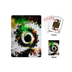 Fractal Universe Computer Graphic Playing Cards (mini)  by Simbadda