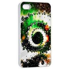 Fractal Universe Computer Graphic Apple Iphone 4/4s Seamless Case (white) by Simbadda