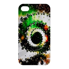 Fractal Universe Computer Graphic Apple Iphone 4/4s Hardshell Case by Simbadda