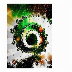 Fractal Universe Computer Graphic Small Garden Flag (two Sides) by Simbadda