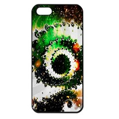 Fractal Universe Computer Graphic Apple Iphone 5 Seamless Case (black) by Simbadda