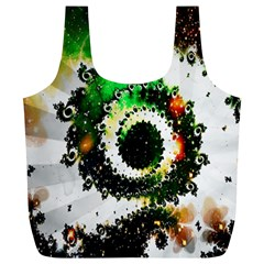 Fractal Universe Computer Graphic Full Print Recycle Bags (l)  by Simbadda