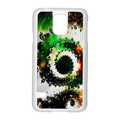 Fractal Universe Computer Graphic Samsung Galaxy S5 Case (white) by Simbadda