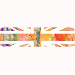 Union Jack Abstract Watercolour Painting Large Bar Mats by Simbadda