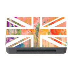 Union Jack Abstract Watercolour Painting Memory Card Reader With Cf by Simbadda