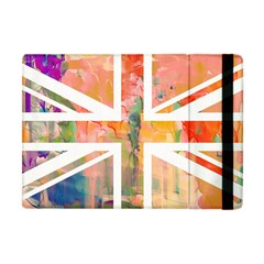 Union Jack Abstract Watercolour Painting Apple Ipad Mini Flip Case by Simbadda