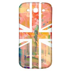 Union Jack Abstract Watercolour Painting Samsung Galaxy S3 S Iii Classic Hardshell Back Case by Simbadda