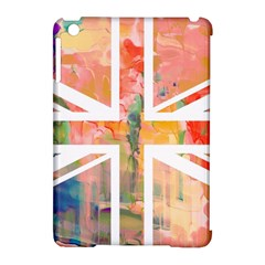 Union Jack Abstract Watercolour Painting Apple Ipad Mini Hardshell Case (compatible With Smart Cover) by Simbadda