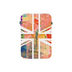 Union Jack Abstract Watercolour Painting Apple Ipad Mini Protective Soft Cases by Simbadda