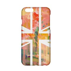 Union Jack Abstract Watercolour Painting Apple Iphone 6/6s Hardshell Case by Simbadda