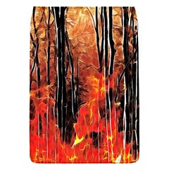 Forest Fire Fractal Background Flap Covers (s)  by Simbadda