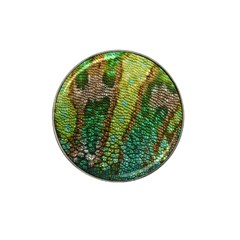 Colorful Chameleon Skin Texture Hat Clip Ball Marker (10 Pack) by Simbadda