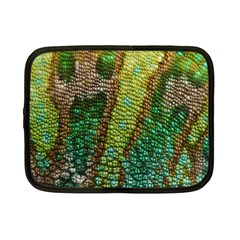 Colorful Chameleon Skin Texture Netbook Case (small)  by Simbadda