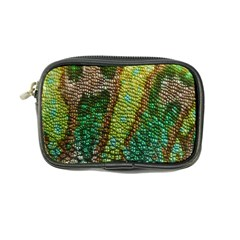 Colorful Chameleon Skin Texture Coin Purse by Simbadda