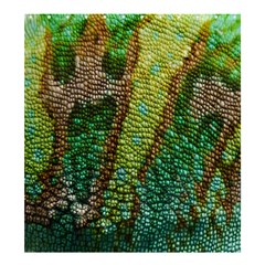 Colorful Chameleon Skin Texture Shower Curtain 66  X 72  (large)  by Simbadda