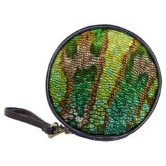 Colorful Chameleon Skin Texture Classic 20 Cd Wallets by Simbadda
