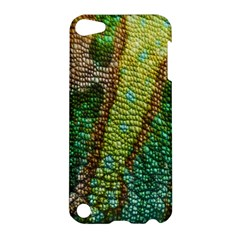Colorful Chameleon Skin Texture Apple Ipod Touch 5 Hardshell Case by Simbadda