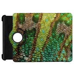 Colorful Chameleon Skin Texture Kindle Fire Hd 7  by Simbadda