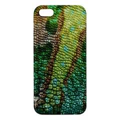 Colorful Chameleon Skin Texture Iphone 5s/ Se Premium Hardshell Case by Simbadda