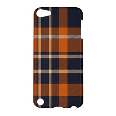 Tartan Background Fabric Design Pattern Apple Ipod Touch 5 Hardshell Case by Simbadda