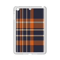 Tartan Background Fabric Design Pattern Ipad Mini 2 Enamel Coated Cases by Simbadda