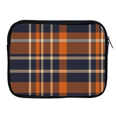 Tartan Background Fabric Design Pattern Apple Ipad 2/3/4 Zipper Cases by Simbadda