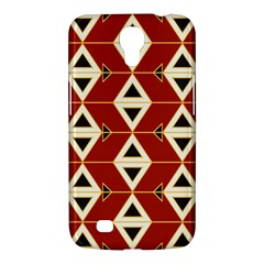 Triangle Arrow Plaid Red Samsung Galaxy Mega 6 3  I9200 Hardshell Case by Alisyart
