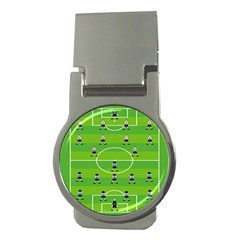 Soccer Field Football Sport Money Clips (round)  by Alisyart