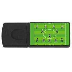Soccer Field Football Sport Usb Flash Drive Rectangular (4 Gb) by Alisyart