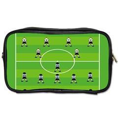 Soccer Field Football Sport Toiletries Bags 2 Side by Alisyart