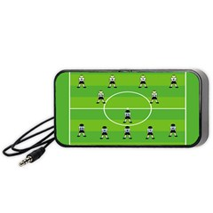 Soccer Field Football Sport Portable Speaker (black) by Alisyart