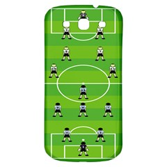 Soccer Field Football Sport Samsung Galaxy S3 S Iii Classic Hardshell Back Case by Alisyart