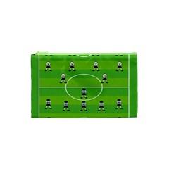 Soccer Field Football Sport Cosmetic Bag (xs) by Alisyart