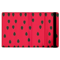 Watermelon Fan Red Green Fruit Apple Ipad 3/4 Flip Case by Alisyart