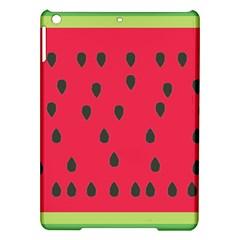 Watermelon Fan Red Green Fruit Ipad Air Hardshell Cases by Alisyart