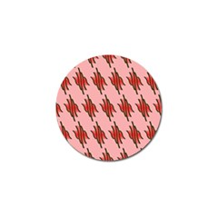 Variant Red Line Golf Ball Marker (10 Pack) by Alisyart