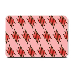 Variant Red Line Small Doormat  by Alisyart