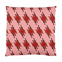 Variant Red Line Standard Cushion Case (one Side) by Alisyart