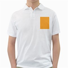 Yellow Circles Golf Shirts by Alisyart