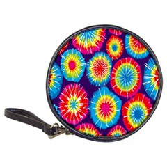 Tie Dye Circle Round Color Rainbow Red Purple Yellow Blue Pink Orange Classic 20 Cd Wallets by Alisyart