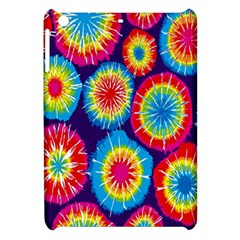Tie Dye Circle Round Color Rainbow Red Purple Yellow Blue Pink Orange Apple Ipad Mini Hardshell Case by Alisyart